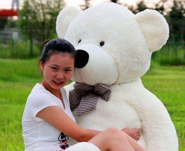 1.6m big size  teddy bear plush  soft toys teddy bear stuffed toys 3 color to choose freeshipping
