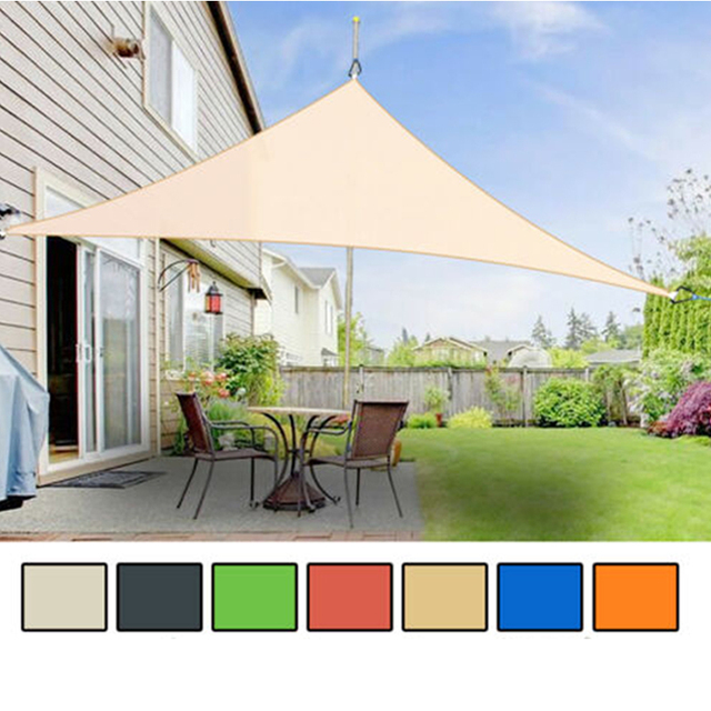 Waterproof Outdoor Sun Shade Shelter Awning Tent Canopy Garden Patio Beach Picnic Camp Tarp Travel Sunshade 7 Color 2M x 2M x 2M