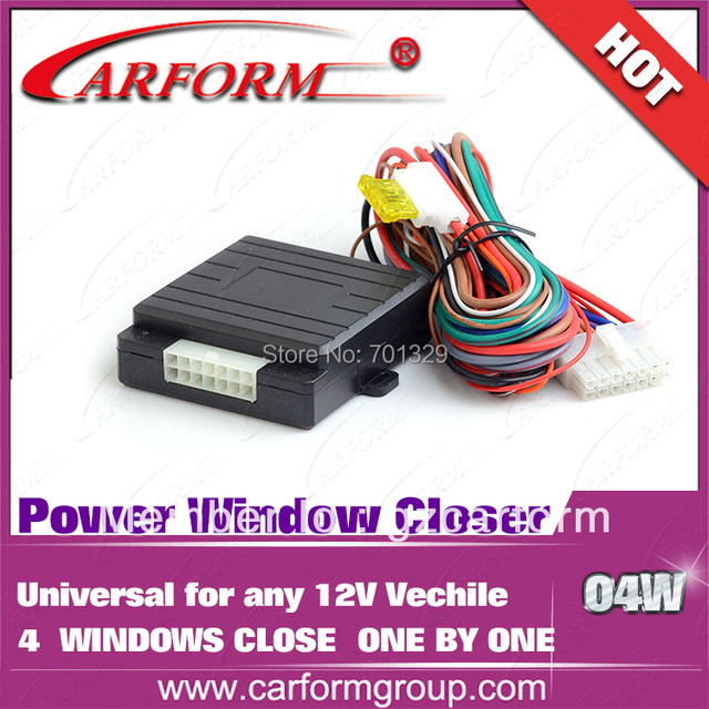 Hot sell 4 windows Automatically closed Roll Up and down module for any Universal 12V car