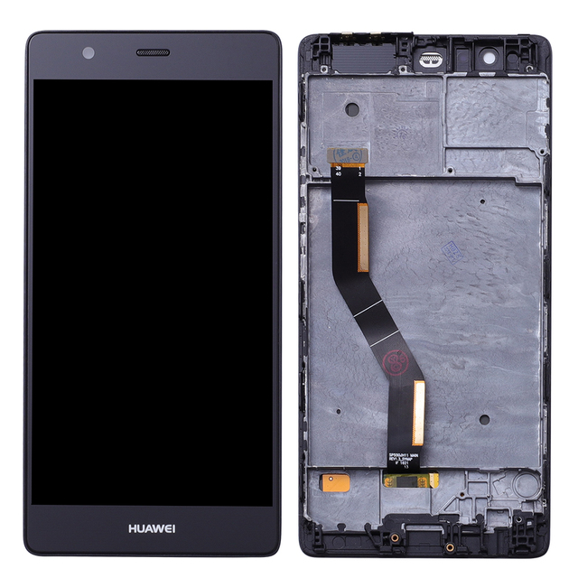 Original LCD display For Huawei P9 PLUS touch screen Digitizer Sensor Glass Panel Assembly 5.5 inch 1920*1080 with Frame