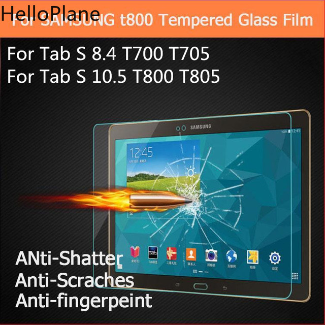 Tempered Glass For Samsung Galaxy Tab S 8.4 10.5 inch T700 T705 T705C T800 T805 TabS Tablet Screen Protector Protective Film