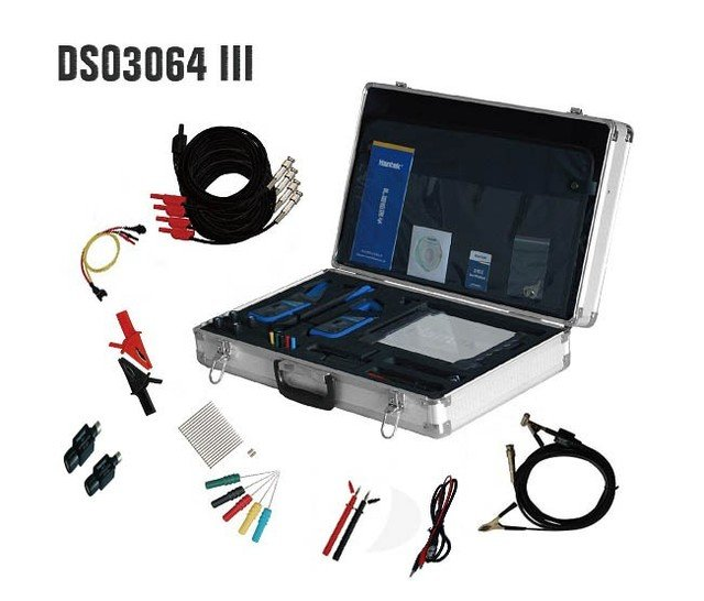 Hantek Automotive Diagnostic Equipment DSO3064 Kit III with 4 CH 60MHz,200MS/s Oscilloscope Ignition Action Bus Diagnosis