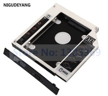 NIGUDEYANG 2nd жесткий диск SSD HDD SATA Optical bay Caddy для Acer Aspire 5951 5951G 8951 8951G UJ8A0
