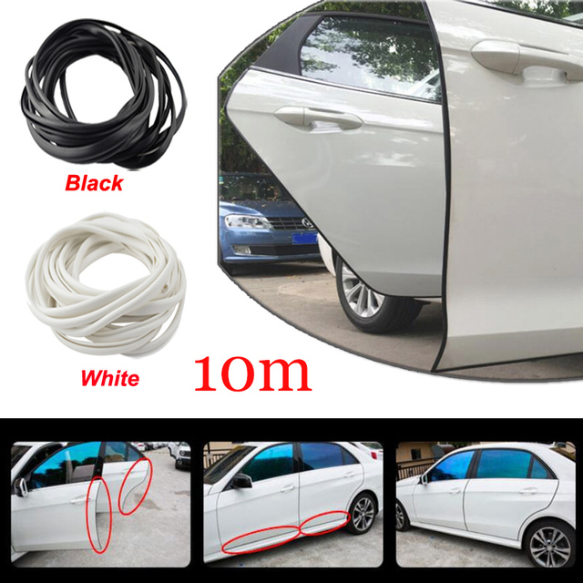 10M Car Auto Door Edge Protector Sealing Strip Seal With Adhesive Universal