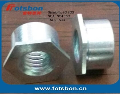 SO-M5-20 , Thru-hole Threaded Standoffs,Carbon steel,zinc,PEM standard,made in china,in stock.