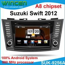 100% Android! Автомобильный DVD для Suzuki Swift 2012 с системой Android 512 Мб памяти 800 МГц 3G Wifi GPS RDS BT DVD USB SD IPOD