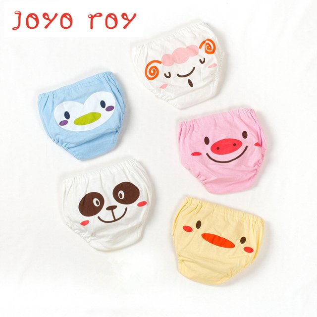 5pcs/lot Joyo roy Babe children Clothing training Pants baby boys&girls Shorts Baby summer Shorts Children's Underwear dj0009R