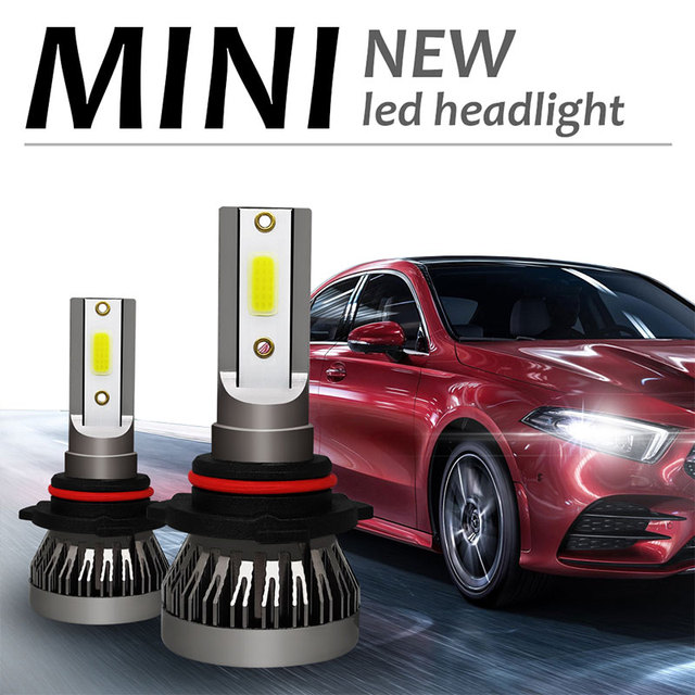 9005/9006/H11/H4 4000LM LED Fog Light Car Accessories Lighting Assembly Front Lamp LED Headlight High Power Automobile Safety