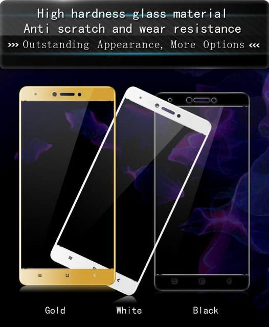 Original iMAK Full Protective Film For Xiaomi Redmi Note 4X Tempered Glass Screen Protector For Redmi Note 4 Glass Film