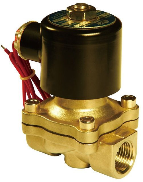 "Free Shipping 5PCS High Quality 1/2"" Water Solenoid Valve NC Brass Alloy Electric Valve AC220V"