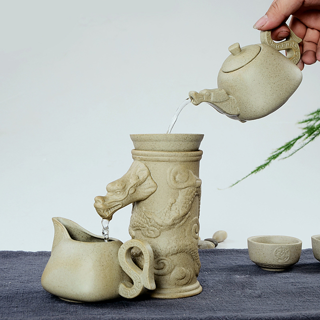 Rough pottery,Tea leaks,Filter,Gongfu Teaset,suit for Puer, Black Tea,Oolong, Tieguanyin,Green Tea,White tea,free shipping