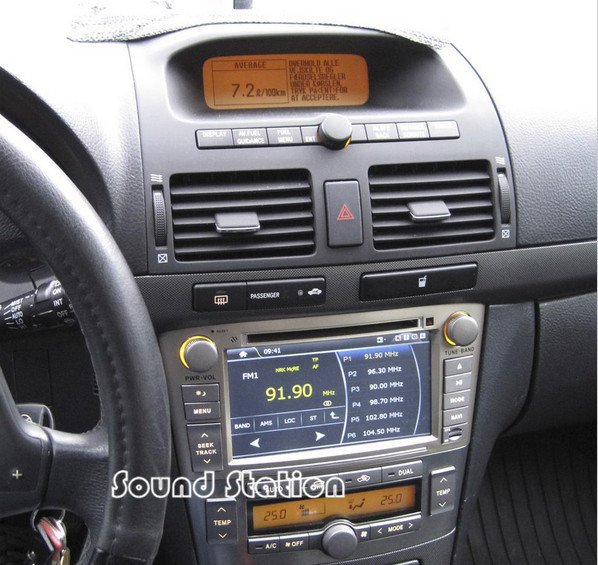 Avensis Navigation Multimedia Autoradio For Toyota Avensis In Dash Replacement Car DVD GPS Navigation Multimedia Radio Autoradio