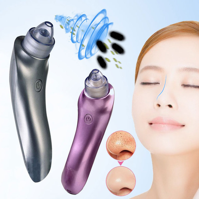 Vacuum Electric Pore Cleaner Blackhead Vacuum Removal Inhaler Spot Acne Black Head Face Care Cleaning Remover Skin care Tool