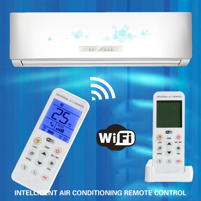 2019 Drop Shpping WIFI Air Conditioner Remote Remote Controller Intelligent Universal LCD Air Conditioner Controller