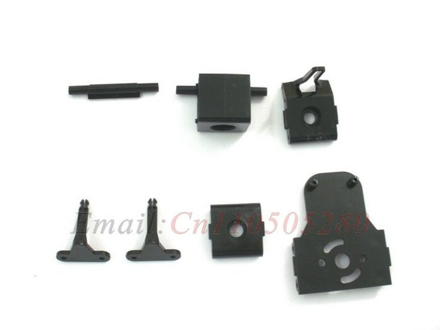 wholesale DH double horse 9104-17 Nose, Tail Tube Fixed spare parts for DH 9104 RC helicopter  DH9104