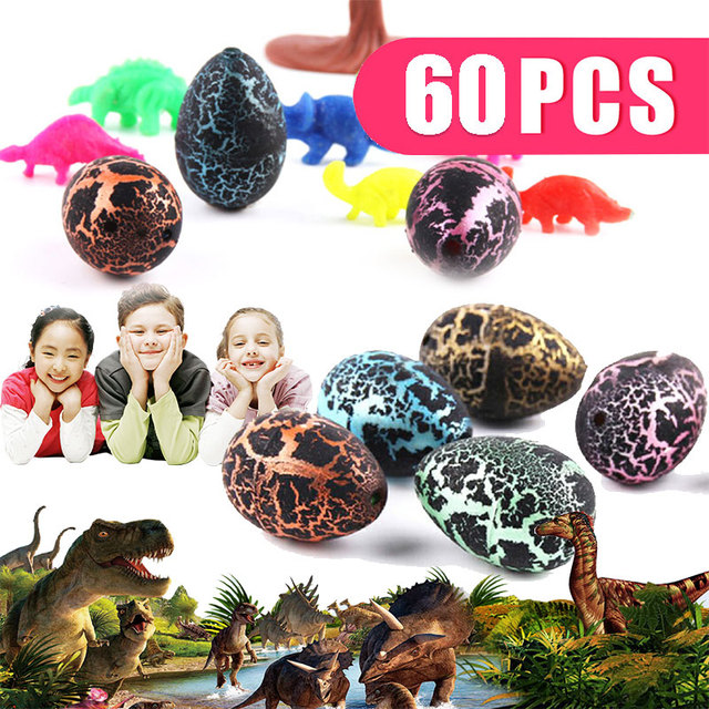 60Pcs Water Growing Dinosaur Cute Magic Hatching Novelty Gag Toys Novelty Gag Toys For Child Kids Educational Toys Gifts