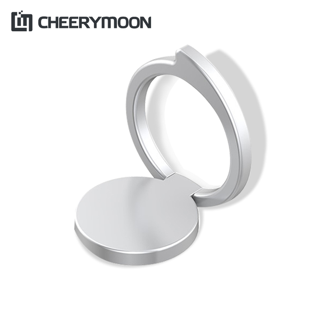 CHEERYMOON Original Comma Series Ring Holder Universal Mobile Phone Stand Metal Finger Grip For iPhone Bracket Full Tracking
