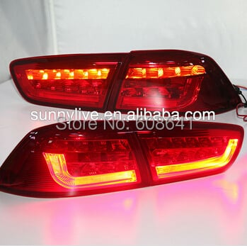 For Mitsubishi Lancer Exceed V1 Type LED tail Lamp 2009-2011