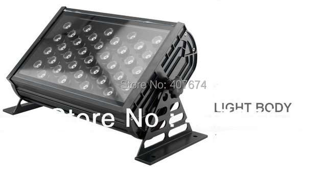 4X LOT High Quality IP65 Waterproof 36*1W RGB Full Color LED Flood Light LED Spot Light LED Wall Washer For Outdoor