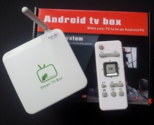 Free Shipping GV11C Google Android TV Box Support AV Support 3G,DLNA,AP ROUTER Smart TV Box with Remote
