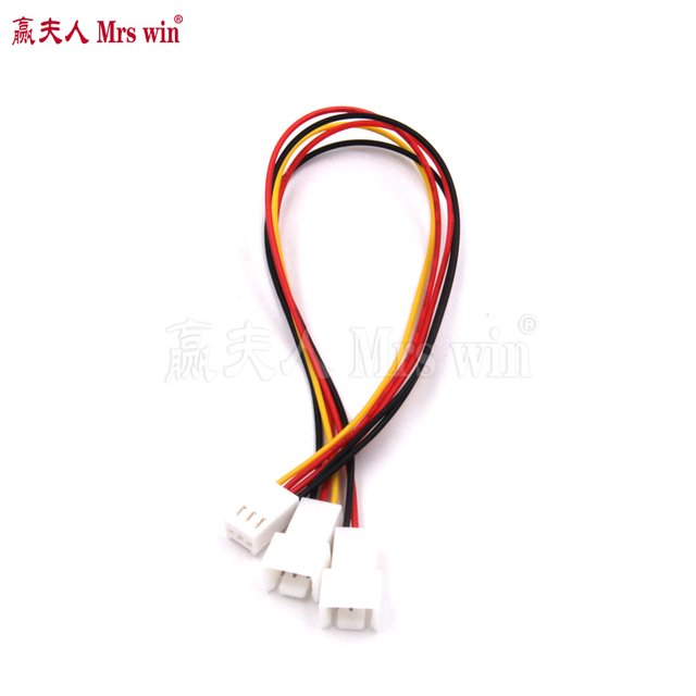 3Pin Fan Splitter Wire for Cooler Fan Splitter GPU CPU Connector Extension Cable for Fan Cooler