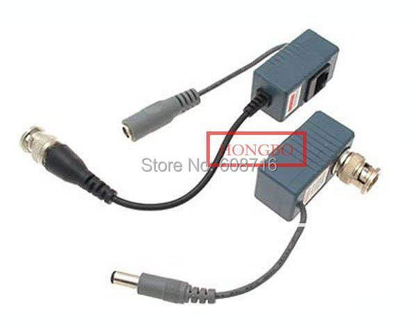 CCTV  Video Audio Power Balun UTP Network Transceiver for cctv camera