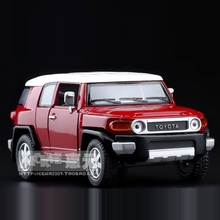 High Simulation Exquisite Collection Toys: KiNSMART Car Styling TOYOTA FJ Cruiser SUV 1:36 Alloy Diecast Model Fast&Fruious