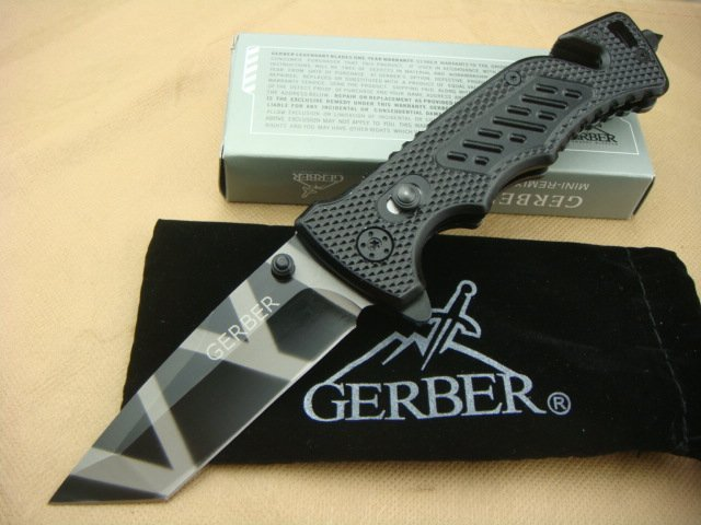 GERBER Knife Camping knife Stainless steel Rescue Tool Multi knife knives GERBER X01