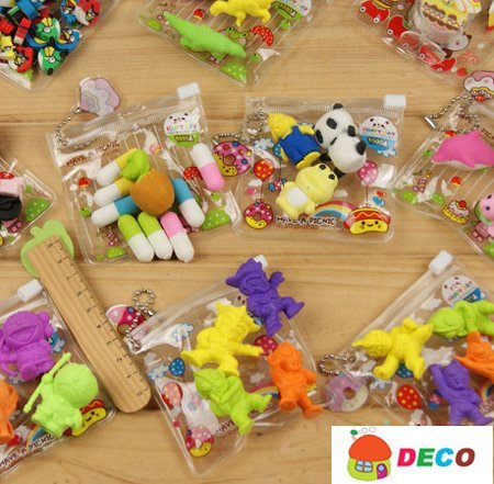 1pack New cute eraser,Funny animal erasers with Wholesale Price, Cartoon eraser (SS-1460)