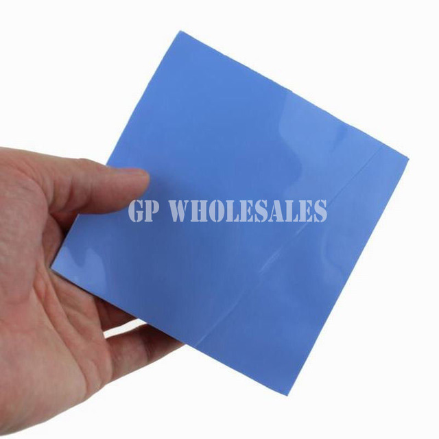 Crazy Promotion! 25x 15*15*1.0mm Heatsink GPU Thermal Conductive Silicone Pads for HP Dell Lenovo Asus Many Brands Laptop Cool