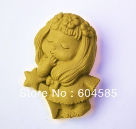 A Little Princess S0063 Craft Art Silicone Soap mold Craft Molds DIY Handmade soap molds