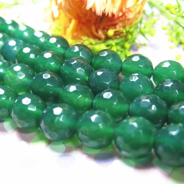 Green stripe natural stone carnelian agat onyx 4mm 6mm 8mm 10mm 12mm faceted round loose beads jewelry making 15 inches GE820