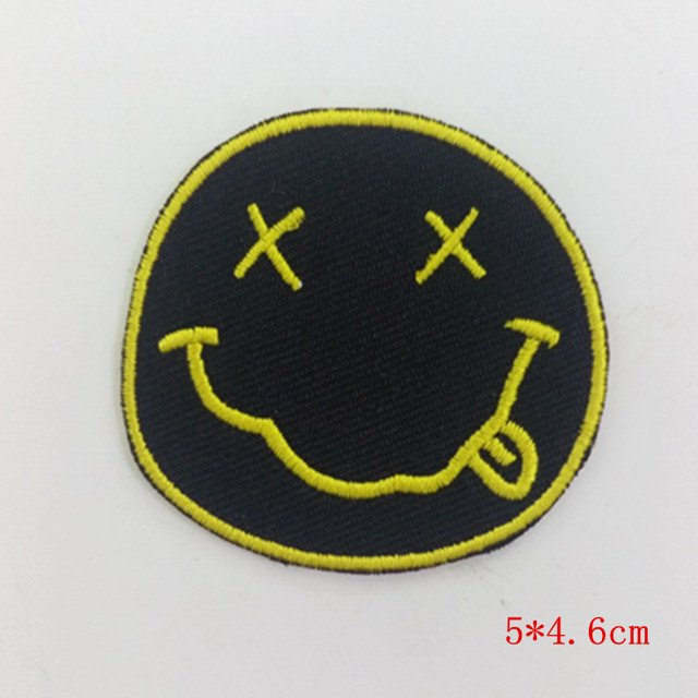 Nirvana Band embroidered iron on patches Embroidery Sew Iron On Patch Badge