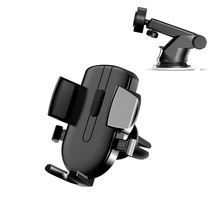 Universal Car Phone Holder Gravity Mount Dashboard Stand Car Suction Cup Support Mobile Phone Bracket  Auto Interior Accessories