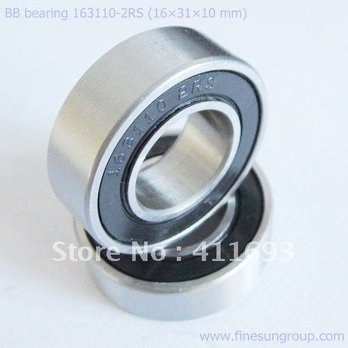 163110-2RS, 163110 bearing for bicycle square bottom bracket
