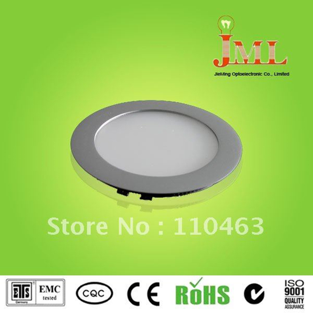 SMD 2835 LED panel ceiling light round recessed LED down ceiling light 10W AC85-265V panel light  free shipping