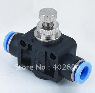PA12  12mm speed controls ; Pneumatic fittings, plastic fittings, push in fittings