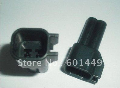 200SET wire connector female cable connector male terminal Terminals 4-pin connector Plugs sockets seal  EV6