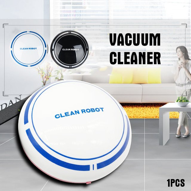 2019 Drop Shpping with Batteries Smart Vacuum Cleaner Auto Cleaning Robot Premium Mopping Auto Sweeping Robot for Household