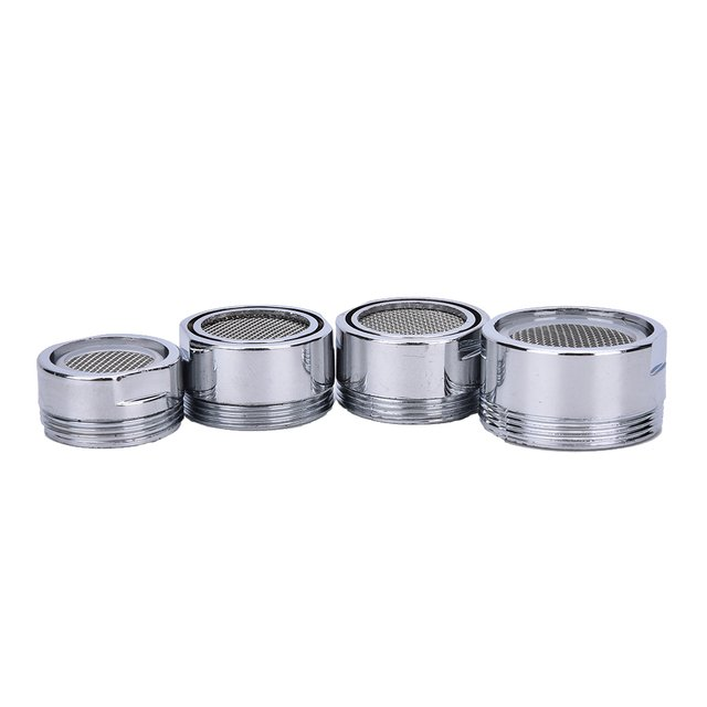 1Pcs 20/22/24mm Water  Adapter Silver Water Saving Faucet Tap Aerator Water Purifier Nozzle  Kitchen Accessories
