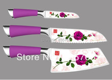New  Kitchen Knives Set High Quality Stainless Steel Chef Knife /Bread Knife /Utility /Slicing /Fruit Knife Kitchen Tools