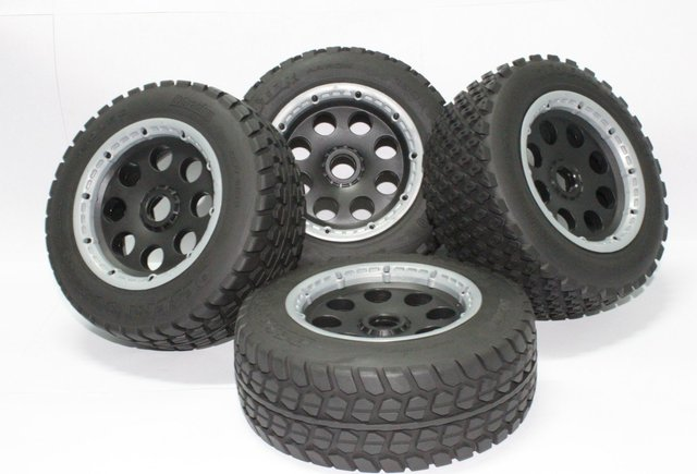 baja 5t tyre wheels for for HPI KM Rovan rc car free shipping
