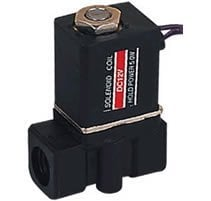 Free Shipping 10PCS 1/4'' Plastic Electric Solenoid Valve 24-volt Air, Water 2P025-08