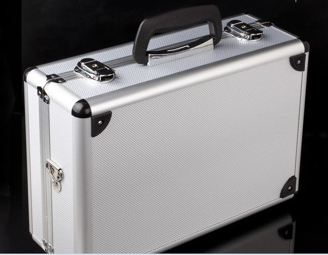 Radio device Aluminum case TX Alloy remote system suitcase wholesale dropship free shipping
