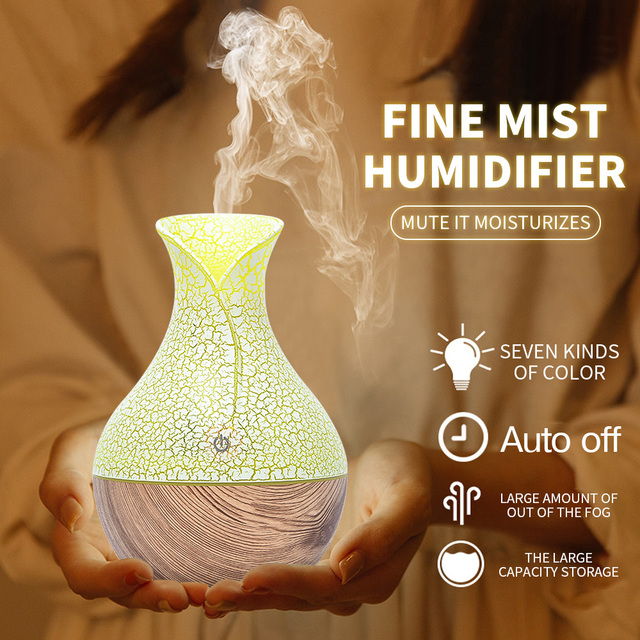 Changeable Aroma Essential Oil Diffuser Mini USB Air Humidifier Portable Ultrasonic Mist Humidifier Air Purifier