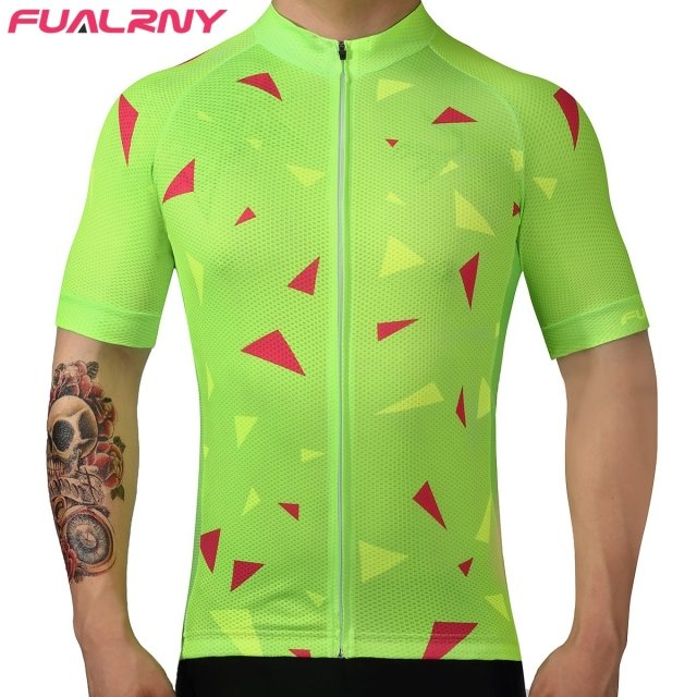 FUALRNY Cycling Jersey 2017 Pro Team Men Summer MTB Road Bike Jersey Breathable Cozy Bicycle DH Jersey Cycling Clothing