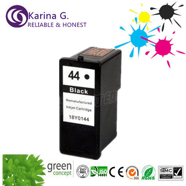 Single Remanufactured For LM44 18Y0144 Black Ink Cartridge suit For Lexmark X4850 X6570 X7550 X9570  Z1520