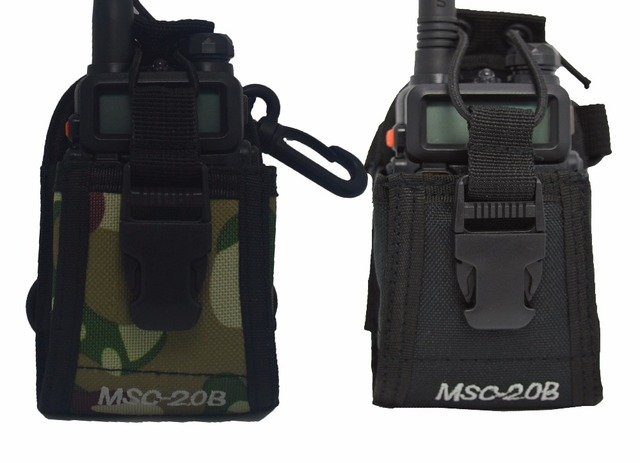 Baofeng Radio Case Holder MSC-20B Portable Pouch For Baofeng UV-5R UV-82 Kenwood Yaesu ICOM TYT Walkie Talkie Accessories