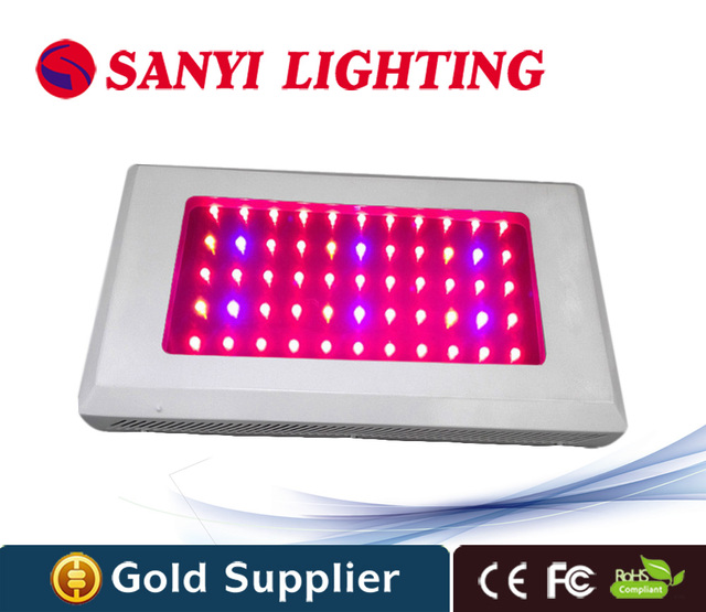New LED Grow Panel 165W Led Grow Light Red Blue 8:1 Led Plant Lamp for Flowers Grow Box Tent Greenhouse Grows Lighting