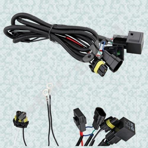 Free Shipping Xenon HID Conversion Relay Wiring Harness H11 9005 9006